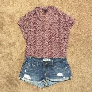 Victoria's Secret vneck blouse